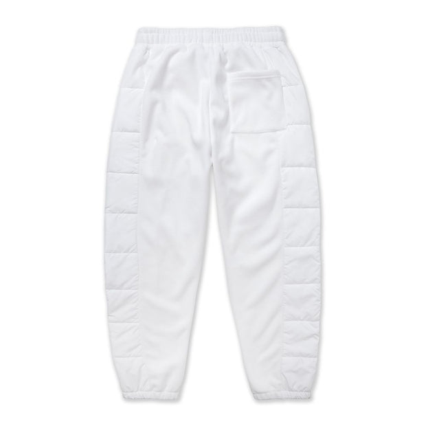 Vast Rip Fleece Sweat Pants - WHITE
