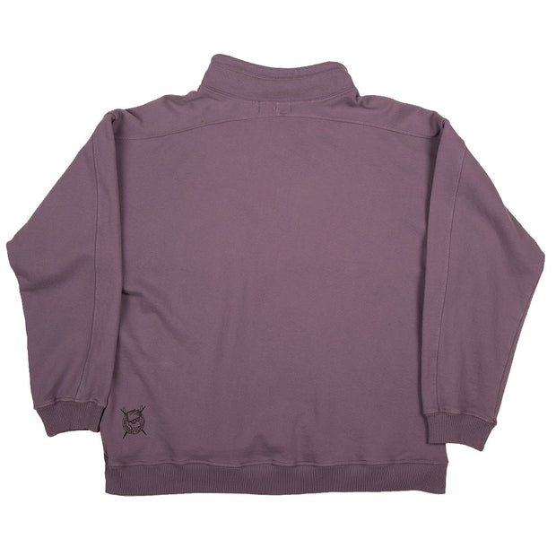 Brothers Marshall Board Head Anorak Sweater - Deep Lavender