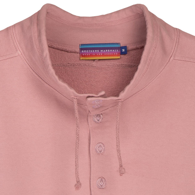Brothers Marshall Board Head Anorak Sweater - Rose Powder