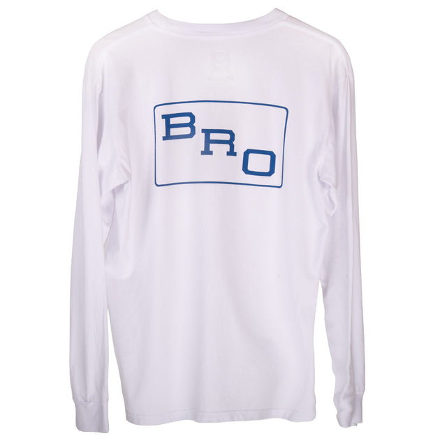 Brothers Marshall Bro Long Sleeve - White