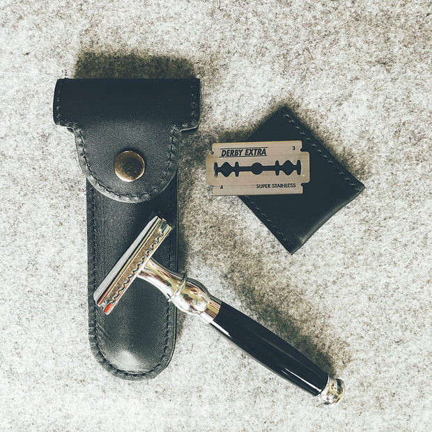 CRUX DOUBLE EDGE SAFETY RAZOR SET