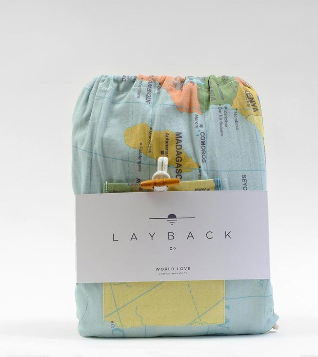 LAYBACK WORLD LOVE (CANVAS) + TOGGLE ROPES