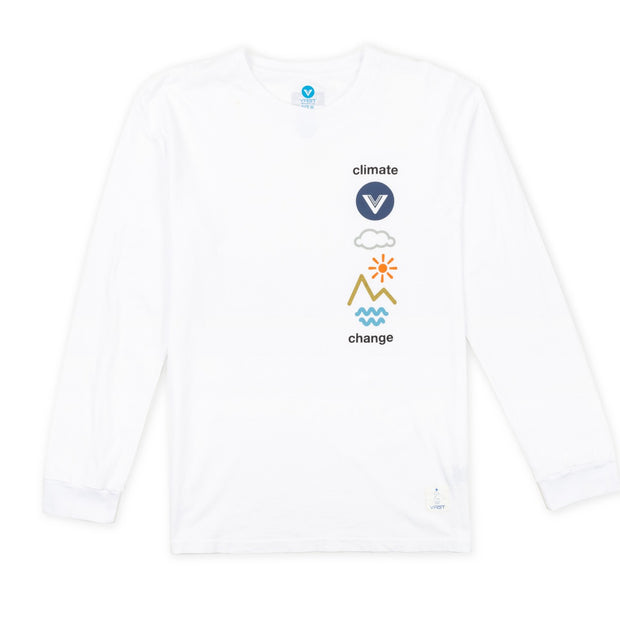 VAST Climate Long Sleeve - White