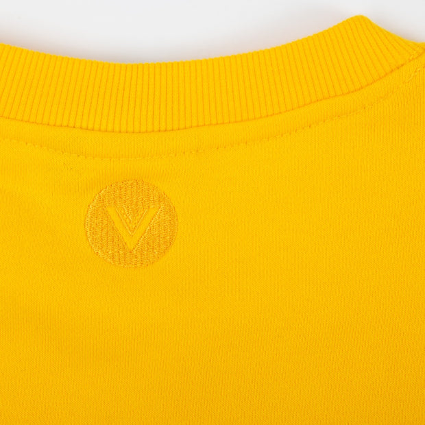 Vast Yogi Fro Crewneck - Yellow