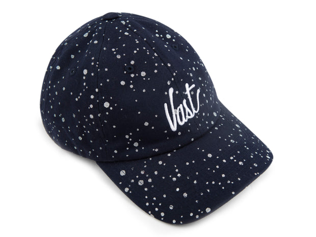 "VAST ""SPLATTER"" SCRIPT 6 PANEL HAT"