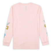 VAST Lower Case Long Sleeve - Pink