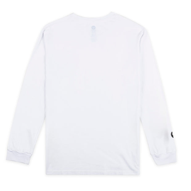 VAST N.A.W Name Tag Long Sleeve - White