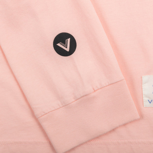 VAST N.A.W Name Tag Long Sleeve - Pink