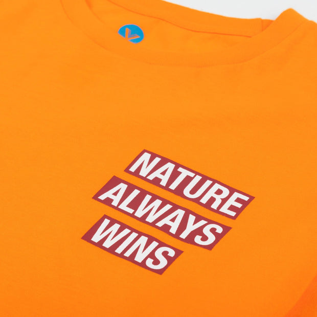 VAST N.A.W Name Tag Long Sleeve - Orange