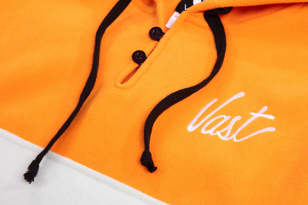 Vast Stripe Pullover - Orange