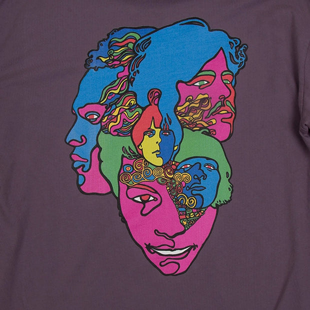 Brothers Marshall LOVE FOREVER CHANGES LONG SLEEVE - Deep Lavender