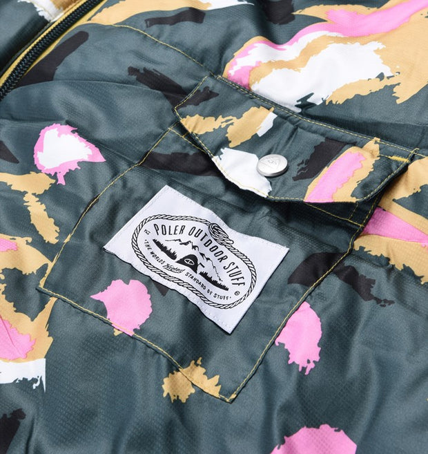 THE REVERSIBLE NAPSACK -  TREETOP CAMO