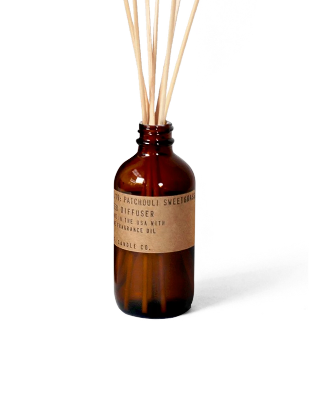 NO. 19 Patchouli Sweetgrass 3 oz Reed Diffuser