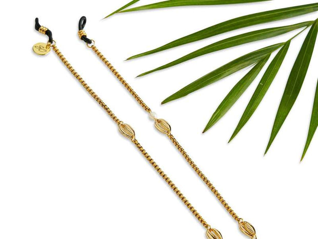SUNNYCORDS Chloé Sunlasses Chain - Gold