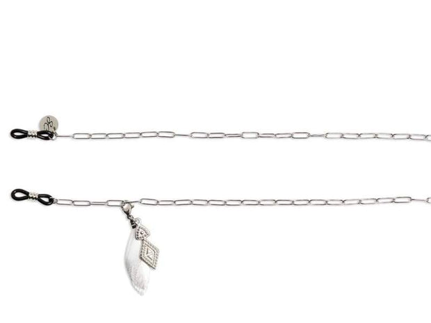SUNNYCORDS Liberty Spirit Glasses Chain - Silver