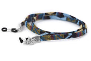 SUNNYCORDS UNISEX Aquamate Glasses Strap - Blue Yellow