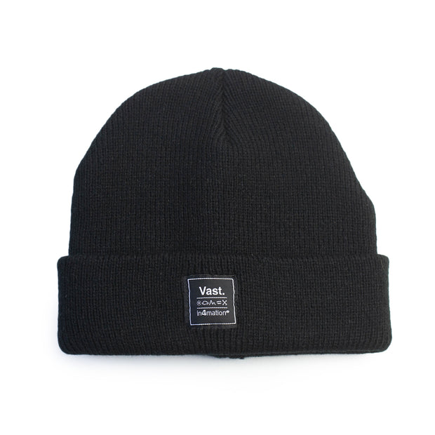 Vast x In4mation Elements Beanie - Black