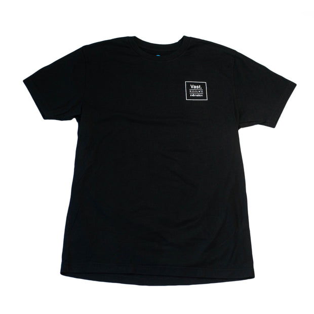 Vast x In4mation Elements Tee - Black