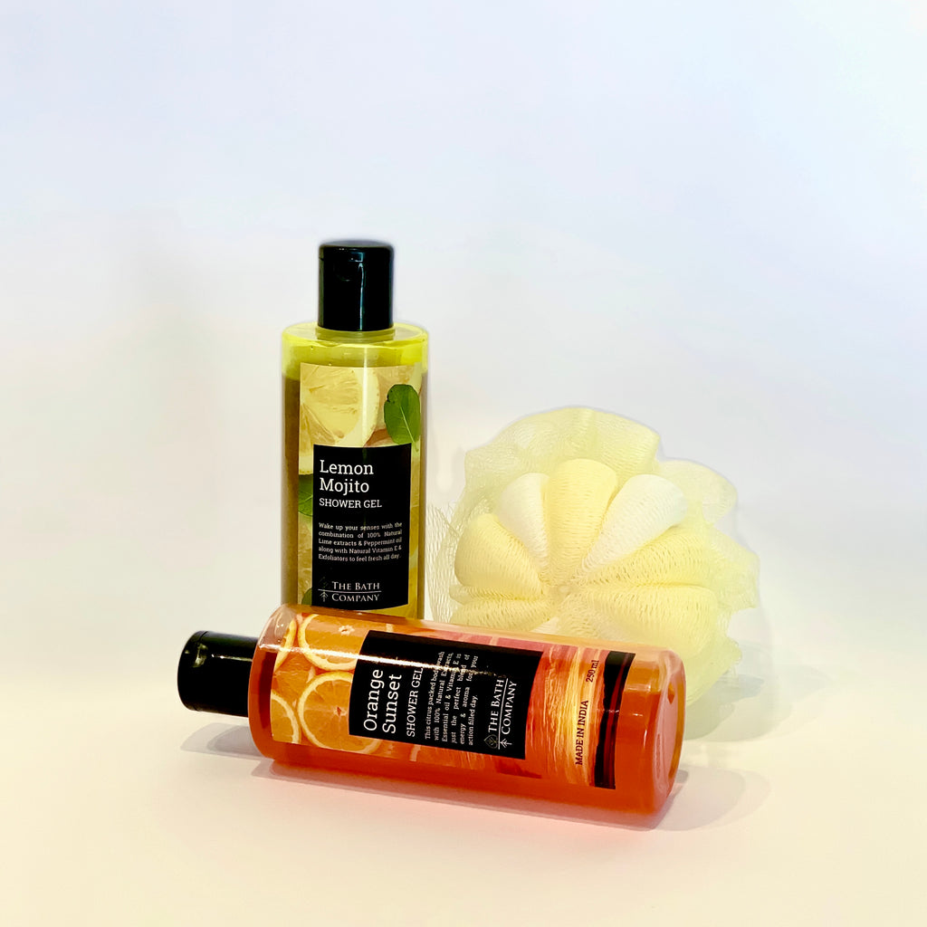 Choose Any 2 Shower Gels and Any 1 Loofah