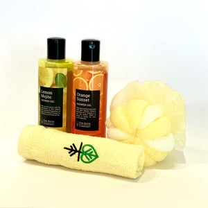 Choose Any 2 Shower Gels, Any 1 Napkin and Any 1 Loofah