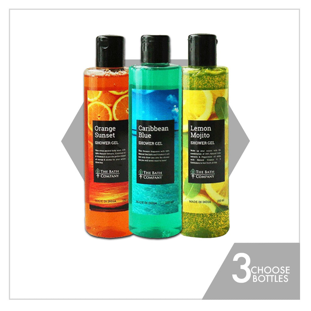 Choose Any 3 Body Washes