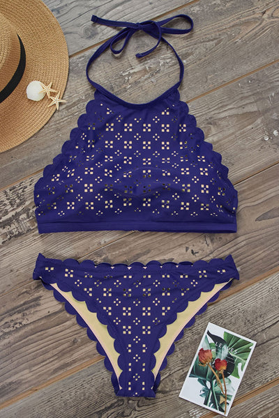 Launiq Fashion Printed Two-piece Swimsuit