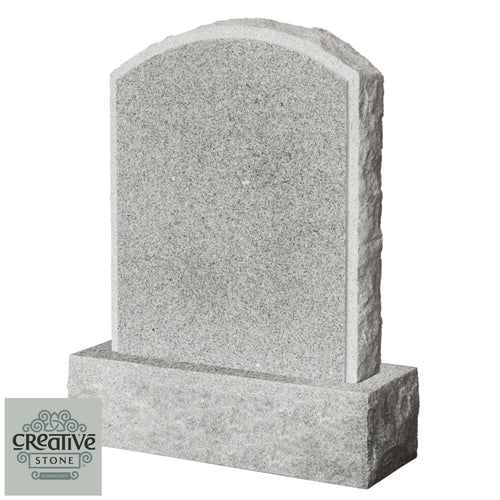 The Rough Boulder Headstone csl 7