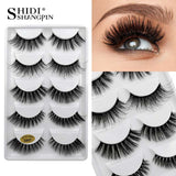 natural long mink eyelashes