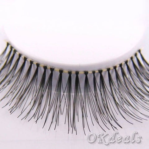 5Pairs Natural Black Long Eyelashes Fake Eyelashes
