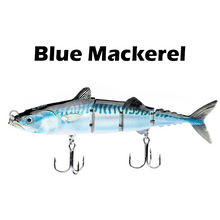 Load image into Gallery viewer, Four Segment Multi-Jointed Fishing Lure