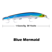 Load image into Gallery viewer, Minnow Jerkbait Swimming Lure