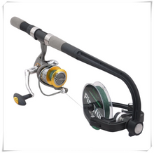 Load image into Gallery viewer, Fishing Line Spooler System (Spinning/Baitcasting Reel Spooler)