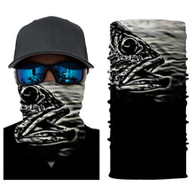 Load image into Gallery viewer, Fishing Mask Black Gray
