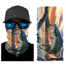 Load image into Gallery viewer, Fishing Headwear Sunset Bass