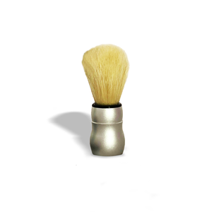 Pure-Badger Brush with silver alloy handle