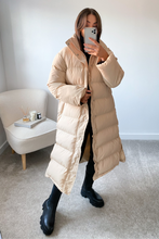 Load image into Gallery viewer, HADLEY Beige Duvet Coat
