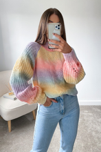 Load image into Gallery viewer, KOKO Multi Colour Cable Knit High Neck Jumper