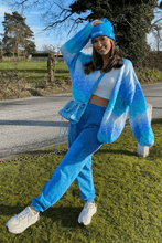 Load image into Gallery viewer, Annie Turquoise Knitted Cardigan