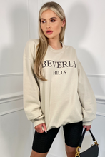 Load image into Gallery viewer, Beverly Hills Stone Oversized Sweater