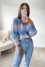 Load image into Gallery viewer, KIA Turquoise Braid Knit Detail Jumper
