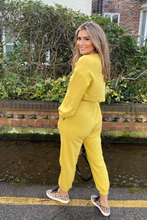 Load image into Gallery viewer, PIPER yellow 3 Piece Jogger set