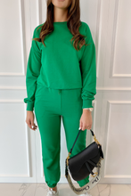 Load image into Gallery viewer, ROMEO Emerald Long Sleeve Basic Loungewear Set