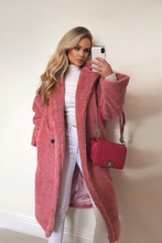 Load image into Gallery viewer, LILY Rose Teddy Coat