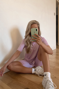 JAYDE Lilac Cycling Short Co-Ord