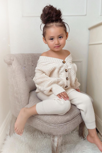 LILY Cream Teddy Coat