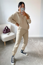 Load image into Gallery viewer, CAROL Cream Hoodie and Jogger Set