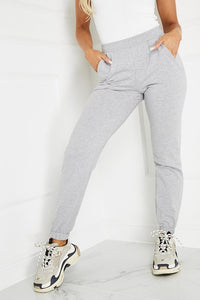 AVIANNA Grey Basic Joggers