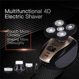 Rechargeable Skull Shaver Cordless Hair Clipper Trimmer  Shaving Razor - Outlet Utria