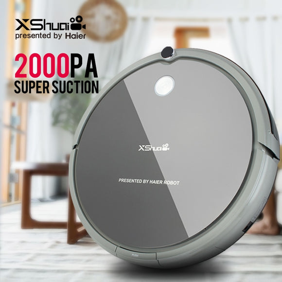 XShuai HXS-G1 Vacuum Cleaner Robot Wireless Auto Recharge Gyro Navigation Sweep Drag For Wood Floor Carpet - Outlet Utria