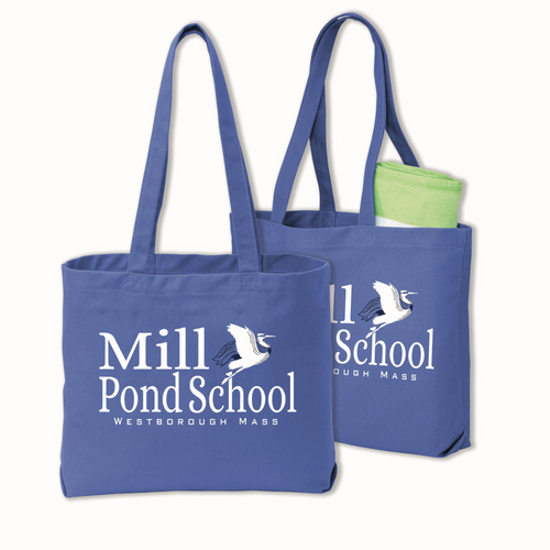 Mill Pond Tote Bag